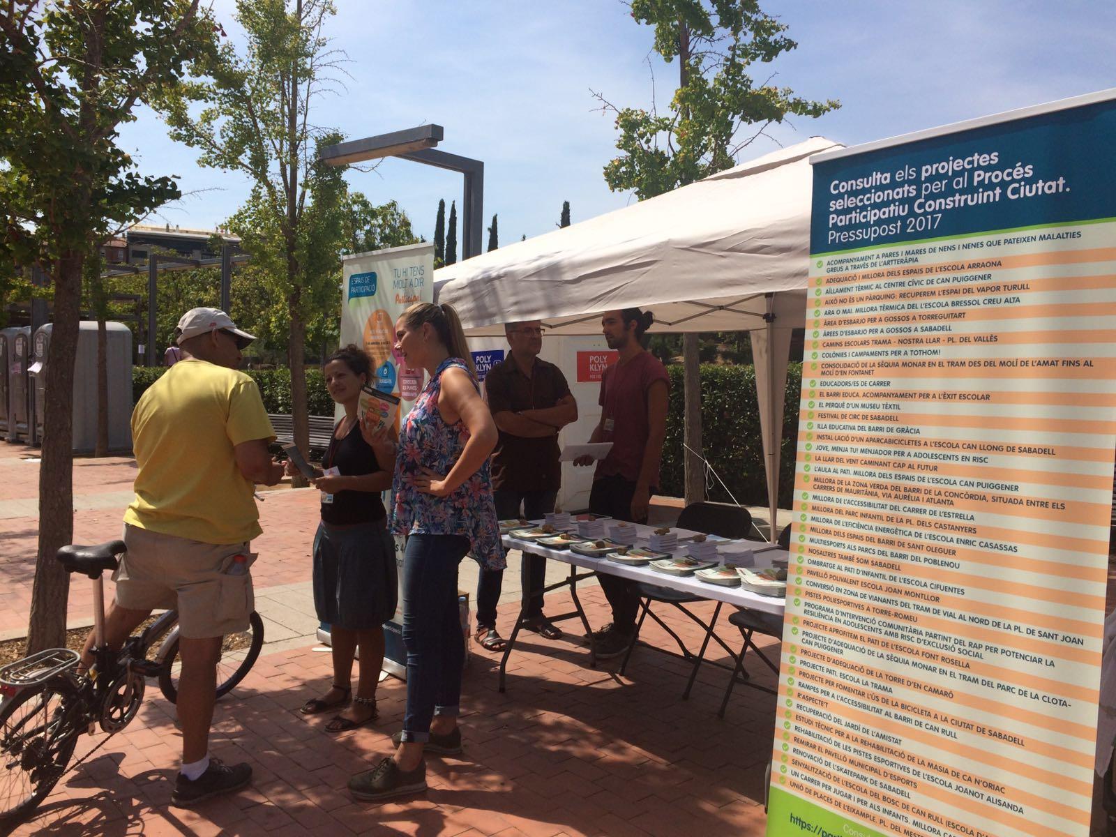 Pressupost Participatiu 2017 De L'Ajuntament De Sabadell
