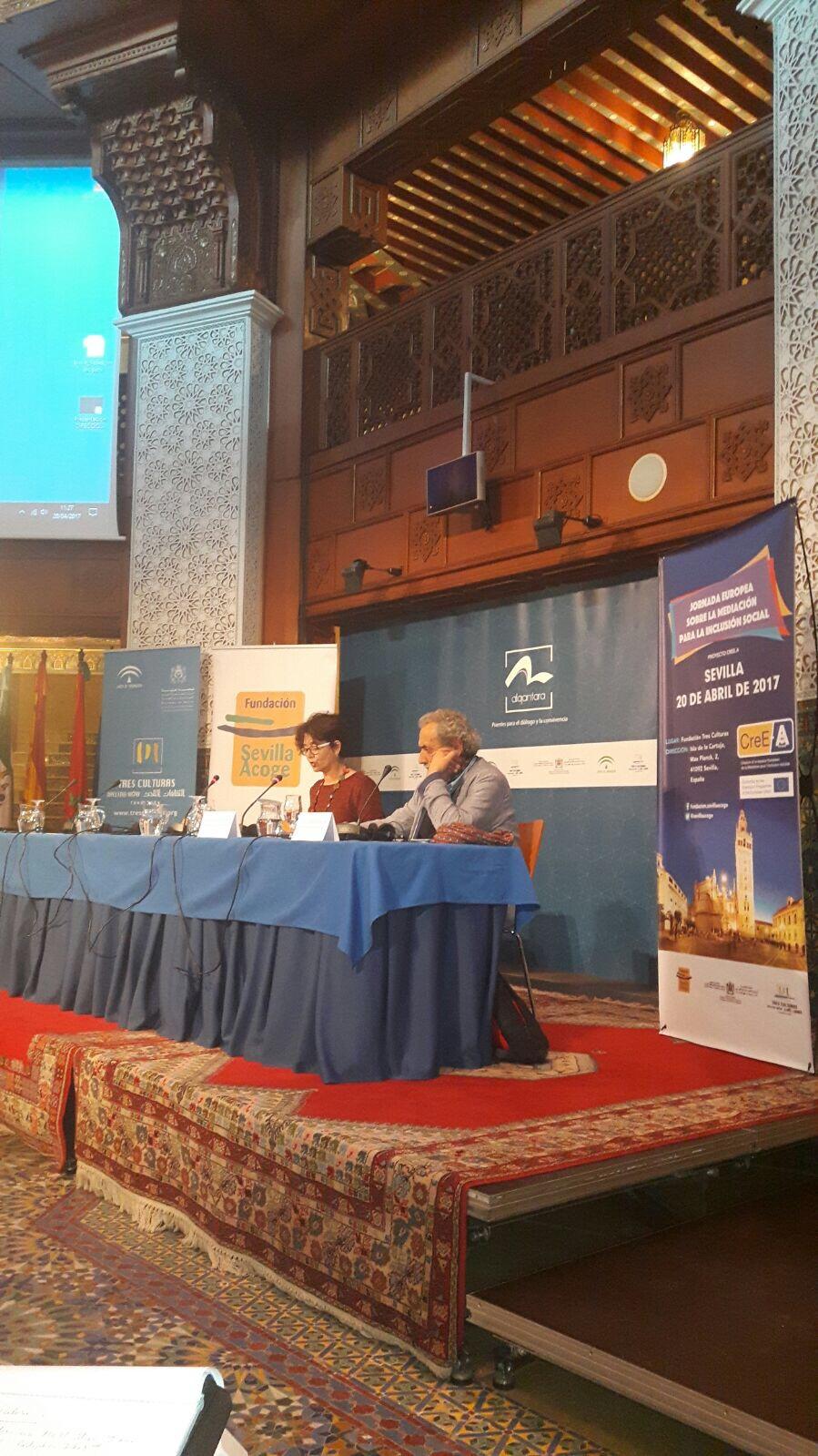 """Participació En La Jornada Europea Sobre """"Mediación Para La Inclusión Social"""""""